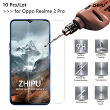 10 Pcs/Lot 2.5D 0.26mm 9H Tempered Glass For Oppo Realme 2 Pro Screen Protector protective film 6.3
