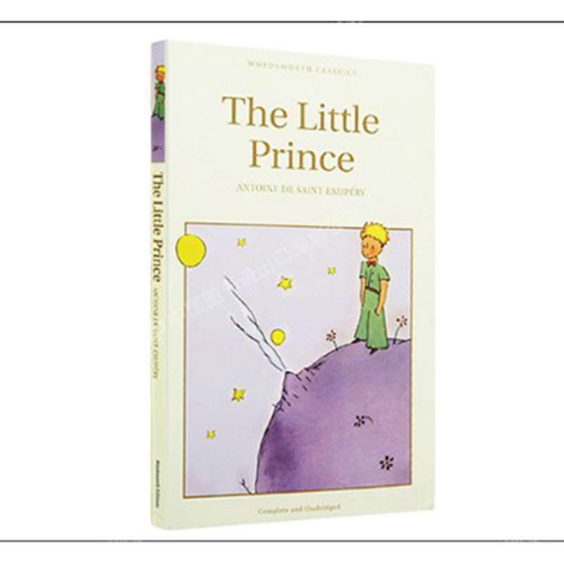 Books For Kids World Famous Novel The Little Prince English Edition Books For Children Kids Story Books English Educational Book