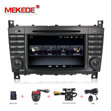 Free shipping Android 8.0 Car DVD player radio GPS Navi For Mercedes/Benz W203 W209 W219 A-Class A160 C-Class C180 C200 RDS WIFI(China)