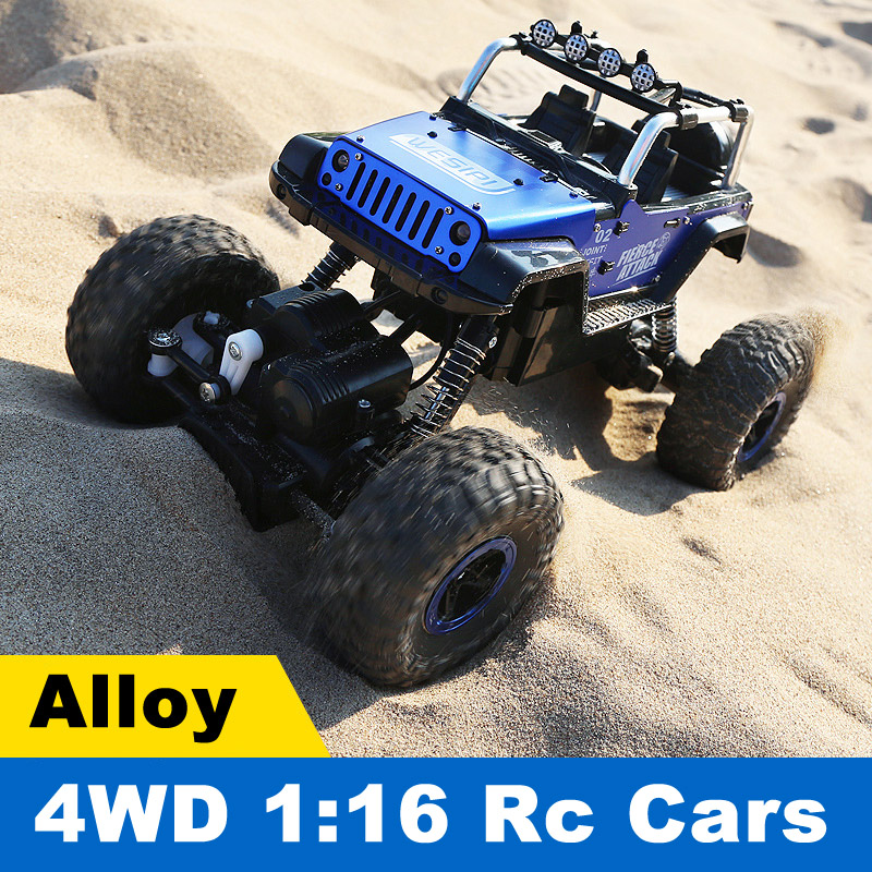 1:16 4WD RC Model Cars 2.4GHZ Radio Remote Control Car Brushless Toy Buggy 2018 Monster Trucks Off-Road Trucks Toys for Children цена 2017