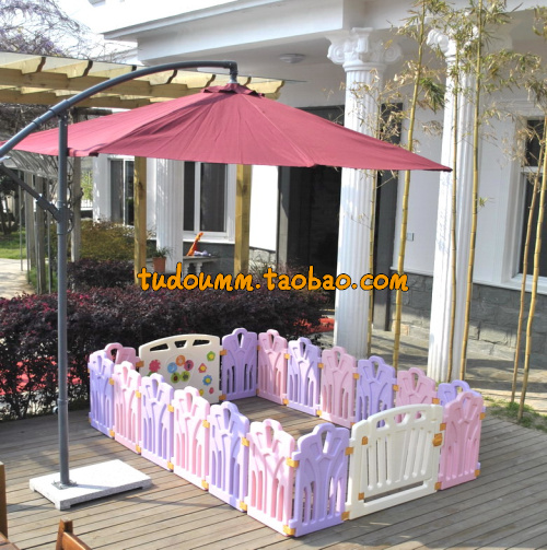 Cercadinho Baby Playpen Fence 3.8 Sqaure Meters 16 +2 Set Export Only Crib Baby Child Safety Guardrail Fence Slide Game Playpen railing stairs balcony safety protecting net baby safety fence child safety products 2 3 meters white color