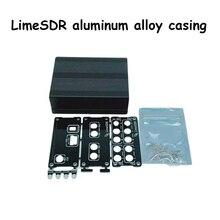 Caja de aluminio negro, carcasa, USB, uso común, para LimeSDR Lime SDR