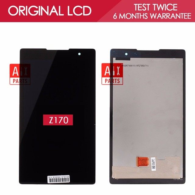 100% Tested Original 7.0 inch 1024*600 IPS Display For ASUS ZenPad C Z170 LCD Z170CG Z170C Z170MG Display With Touch Screen