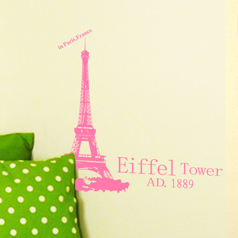 Mākslas dizaina mājas rotājums lēts Romantiskais Parīzes Eifeļa - Mājas dekors - Foto 2