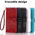Crocodile design Snakeskin wallet leather case cover for samsung galaxy A3 A5 A7 A8 E5 E7 J3 J5 J7 2016 Note 5 4 S7 edge C5
