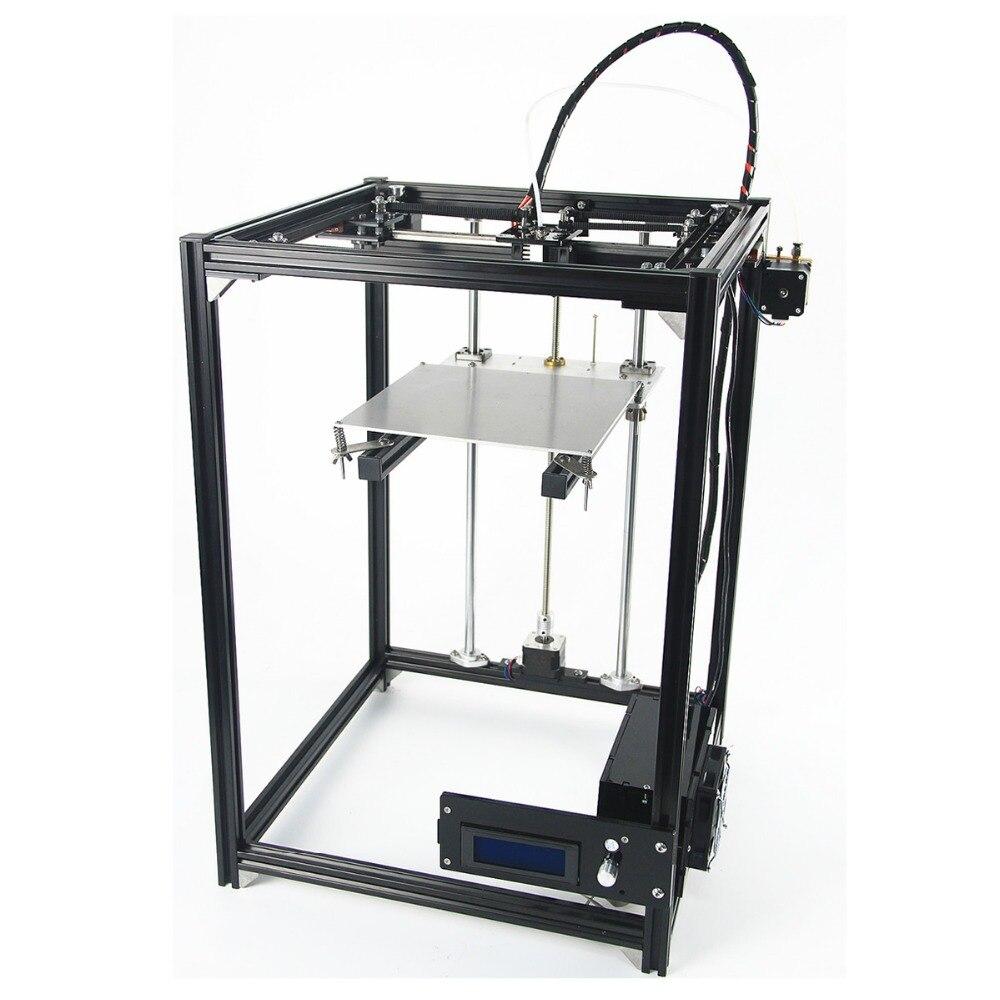 CB-5 3D комплект принтера один большой принт ГБО лазерная гравировка E3D Экструдер 3d печати рисунка робот corexy 3D принтера