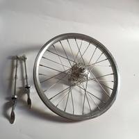 16Inch 305 BMX Bike Wheelset 28H DISC Brake Folding Bike 9T 10T Wheel Four Bearing Hub