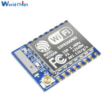 10 adet ESP8266 ESP07 ESP 07 WIFI uzaktan kumandalı Model seri Port kablosuz alıcı modülü 2.4Ghz 3.3V Arduino için yüksek özgünlük