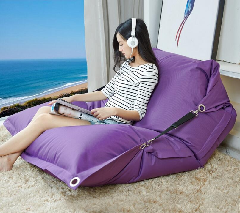 cover only no filler outdoor buggle belts bean bag chair adults seat beanbag x 72inch adults oversize bean bag - Giant Bean Bags