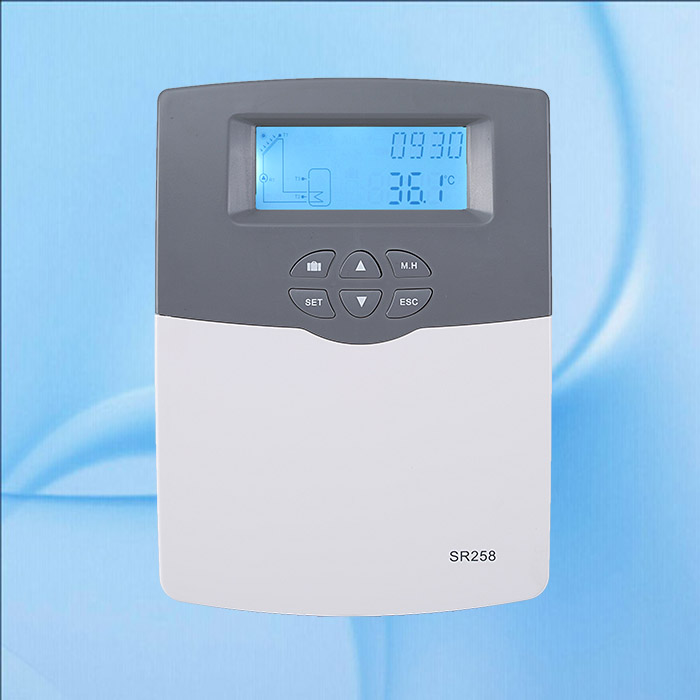 Фотография 100-240V SR258 Solar Water Heater Controller Temperature Controller Solar Controller Thermal Controller