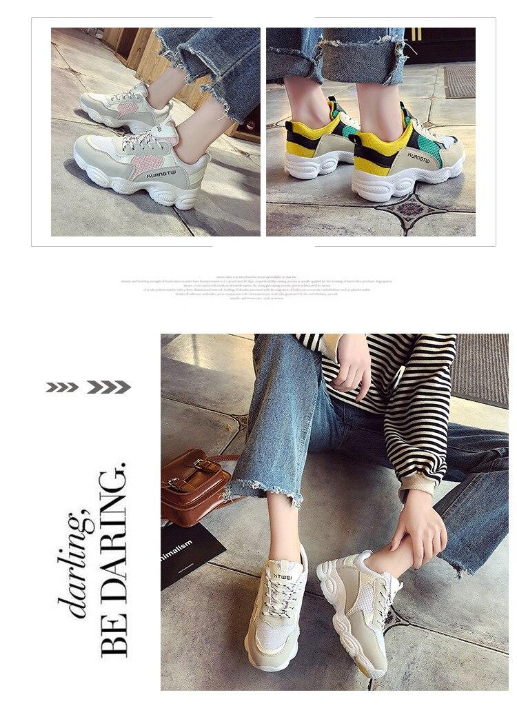 10  New itemizing sizzling gross sales Spring and Autumn web Breathable sneakers girls trainers DKS-186 HTB1uvj3eoo09KJjSZFDq6z9npXaK