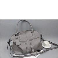 The New European And American Fashion Elephant Pattern Cowhide Locomotive Large Bag Handbags Shoulder Bags Crossbody
