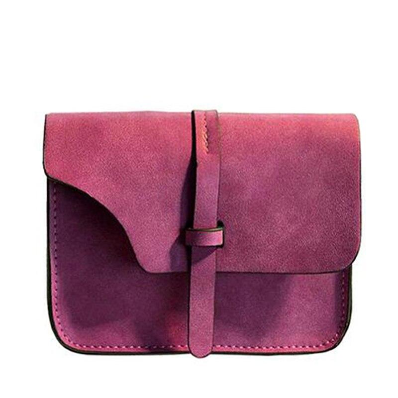 Moda Mujeres Messenger Bag flap Bolso de Las Señoras Pequeña CrossbodyBags Mujer