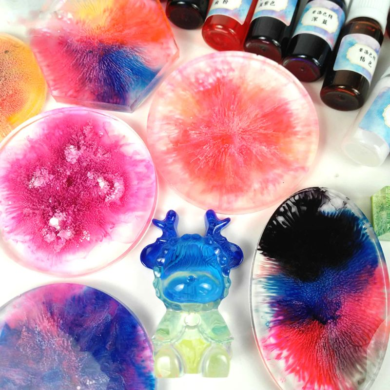 Art Ink Natural Pigment Colorant Dye Ink Diffusion UV Epoxy Resin Jewelry Making
