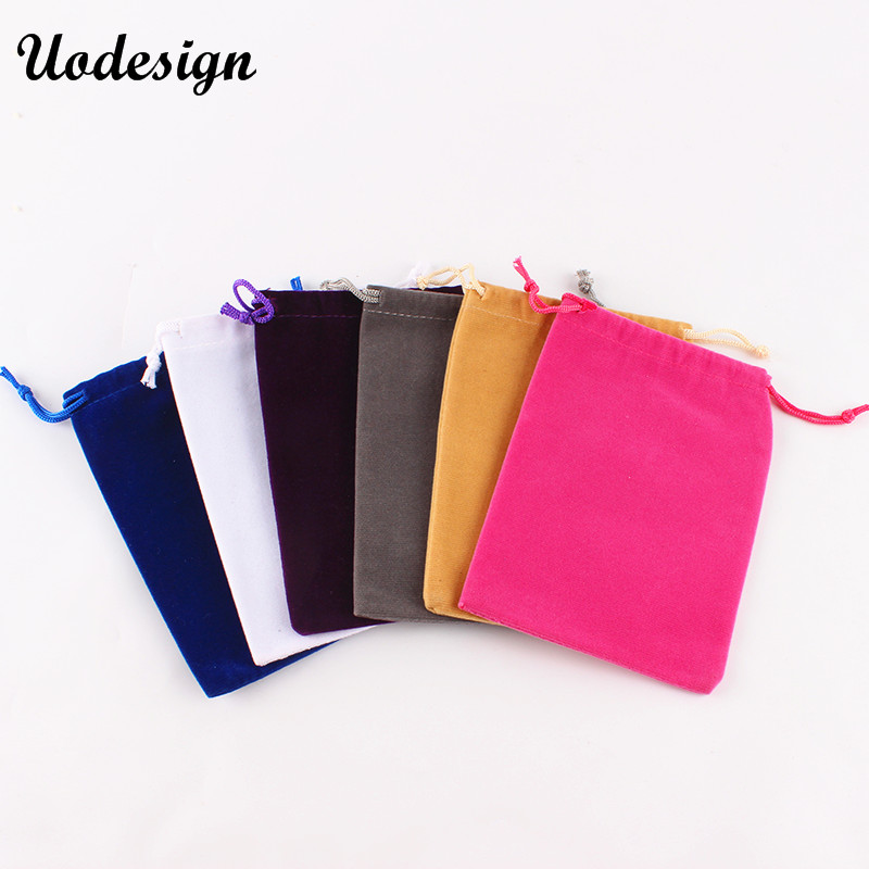 10pcs/lot 10*14cm Mini Velvet Drawstring Gift Bag Jewel Accessories Storage Bags Gift Packing Pouch
