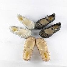 15-18 cm Cristal Chaussures 2017 Nouveaux Enfants Maille Trou Chaussures Filles Sandales Chaussures De Gelée Sandales Chaussures Pour Les Filles