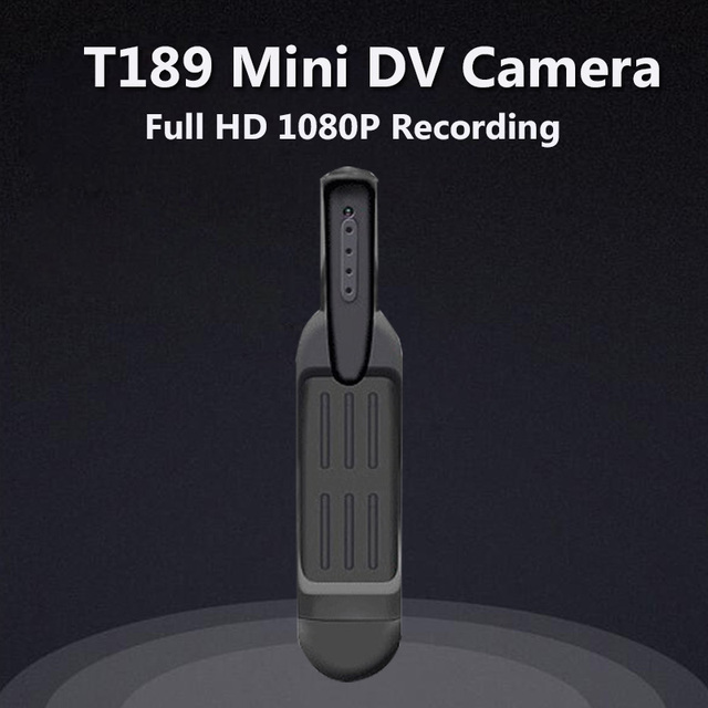 T189 Mini Camera Full HD 1080P 720P Micro Camera 12M Video Voice Recorder Digital Micro Pen Camera HD DVR Cameras Mini DV Cam