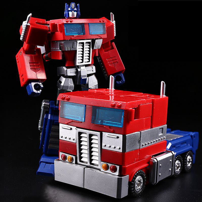 Transformers Optimus Prime Jinbao G1 DX9 DF-04 with trailer Toys 12cm in Stock