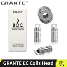 цена на GRANTE EC Head Evaporator Coil For Eleaf Ijust S ijust 2 Coil istick pico Coils 0.3ohm 0.5ohm Core Atomizer Electronic Cigarette