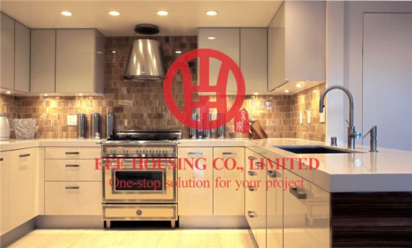 Customized Modern Lacquer Kitchen Cabinet With Excellent Design And Quality MOQ Is 1 Set & Sipping By Sea