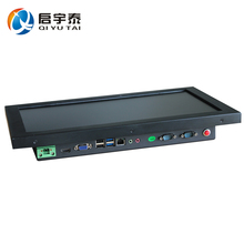 15.6 inch all in one pc industrial panel pc 1366×768 C1037U 1.8GHz black metal case 1 year Warranty DHL free shipping