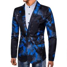 Casual Men Blazer Slim Fit Swallowtail Dress Mens Blazers And Suit Jackets Suits Tuxedos