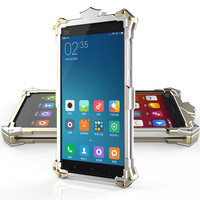 Simon Ironman All Metal Aluminum Hard Rugged Phone Case For Xiaomi Redmi Note 2 Hongmi Note