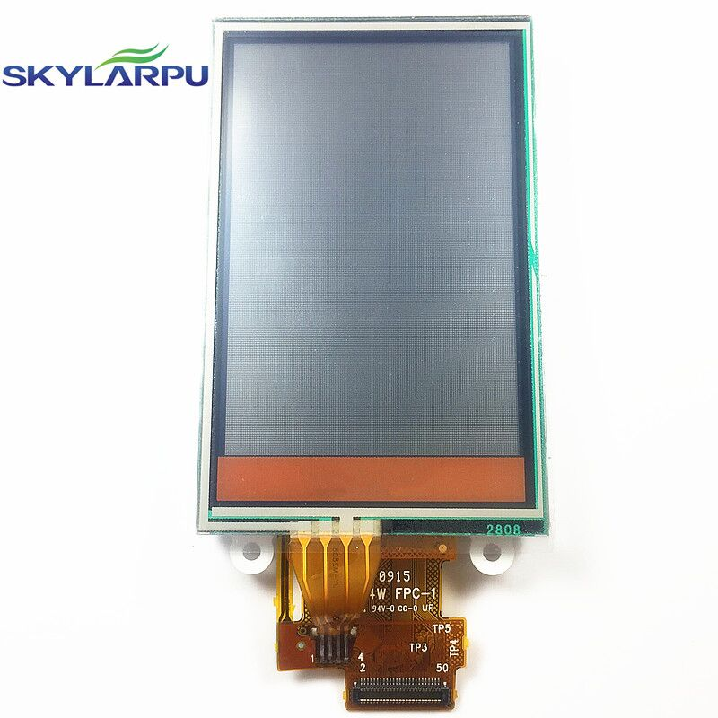 skylarpu 2.6 inch LCD screen for GARMIN Dakota 20 GPS LCD display Screen with Touch screen digitizer WD-F1624W-7FLWH FPC-1 skylarpu 2 2 inch lcd screen module replacement for lq022b8ud05 lq022b8ud04 for garmin gps without touch