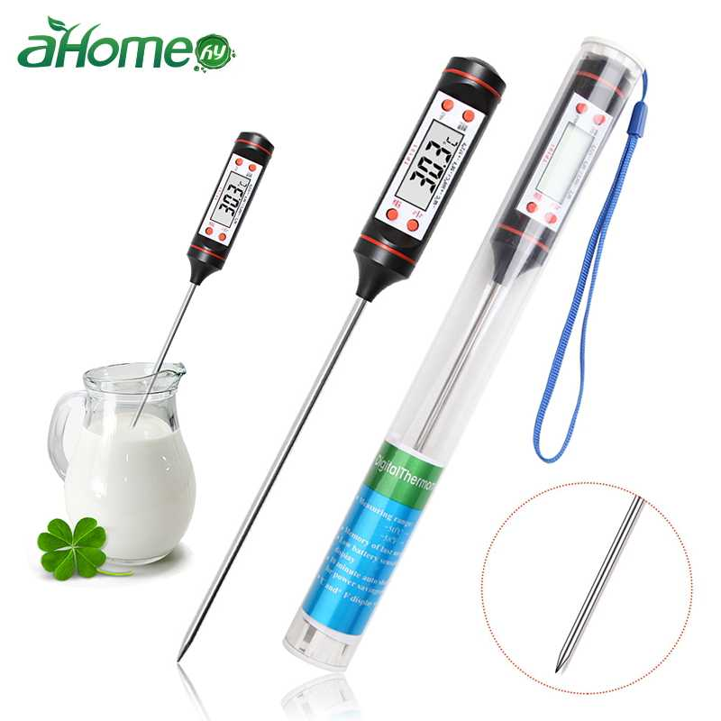 Kitchen Foods Thermometer Meat Milk Food Temperature Measuring Tool  BBQ Accessories Cooking Tool Household Thermometers