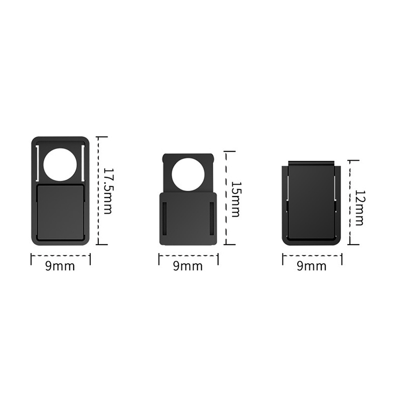 1pc WebCam Cover Shutter Ultrathin Camera Shield Stickers for Notebook PC Tablet Anti-Hacker Peeping Protection Privacy Cover