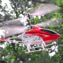 Syma S39 3CH 2,4G helicóptero de Control remoto helicóptero de aleación helicóptero con giroscopio mejores juguetes de regalo RTF RC juguetes para niños con la caja original