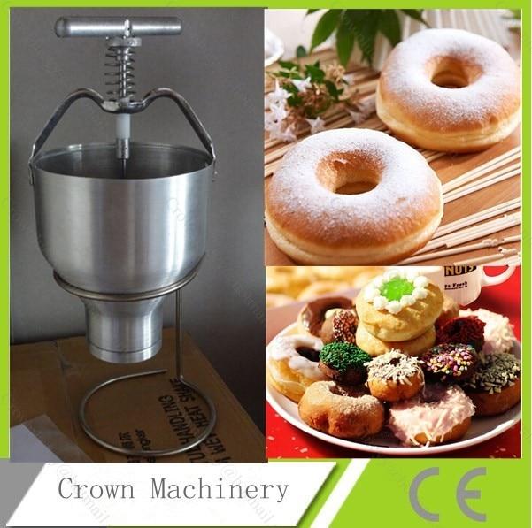 Doughnut Maker Baker Machine Mini Hand Operated Donut Maker Machine Manual Cake Donut Dropper