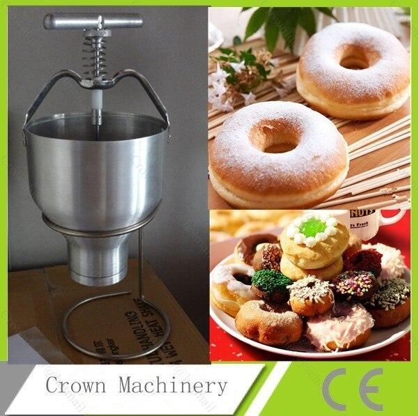doughnut maker baker machine mini hand operated donut maker machine manual cake donut dropper in. Black Bedroom Furniture Sets. Home Design Ideas
