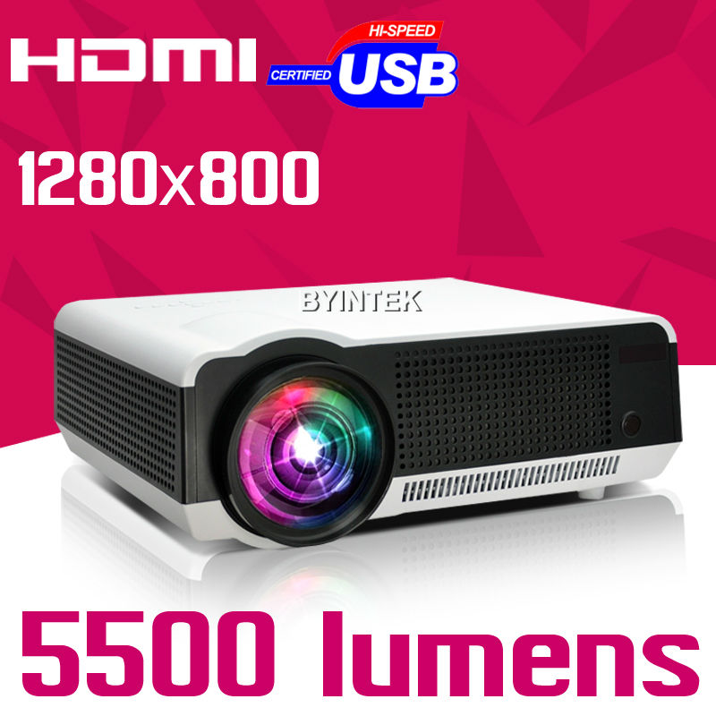 2018 New Home Projectors Theater Lcd 1080p Hd Multimedia: 2016 New Home Theater 5500lumens LEd86 1280x800 1080p