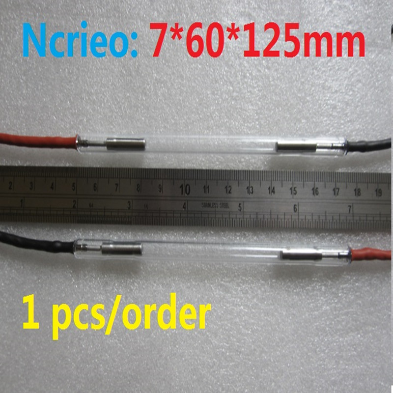 7*60*125mm IPL lamp E-light Xenon Glass Lamp Top Quality with high energy outputs ipl lamp 7 60 120mm best quality ncrieo ipl xenon lamp e light xenon bulb with wire