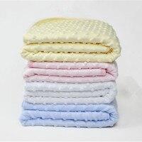 Fleece Baby Blanket Newborn Baby Swaddle Wrap Super Soft Baby Bedding Receiving Blankets Cobertor Manta Bebes