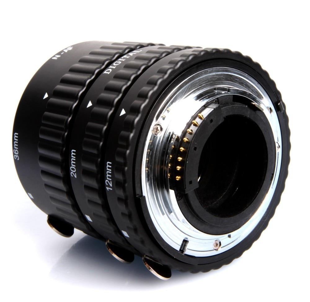 Meike MK N AF B Auto Focus AF Macro Extension Tube Ring for Nikon D7100 D7000