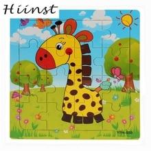 HIINST Puzzle Fa Oktatási Fejlődés Baba Gyerekek Képzés Játék Karácsony Ajándék de madera Legjobb eladó S45 AUG1425