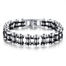 Misheng 2019 Fashion Men Bracelet Punk Personality Bike Chain Original High Quality Titanium Steel Wrist Jewelry Accessories
