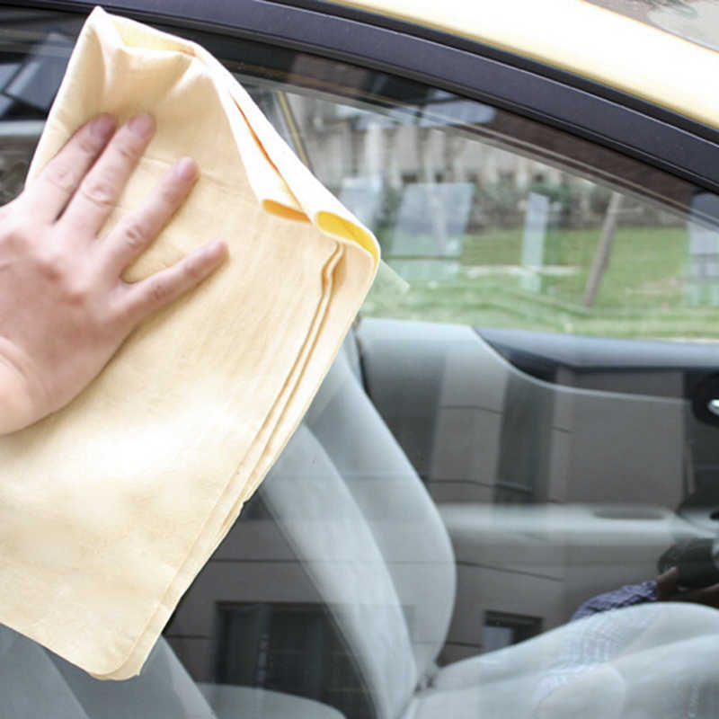 44x33 Deerskin Absorbent Towels Chamois Towel Car Kitchen Cleaning Drying Wipe