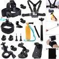 Para gopro hero/ion ar pro/xiaomi yi kit de acessórios para a ação sony Cam HDR AS20 AS200V AS100V AS30V AZ1 mini FDR-X1000V/W 4 k