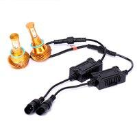 2Pcs Super Bright H4 HI LO Led Bulb 40W 4800Lm Car Led Headlight H7 H11 9006