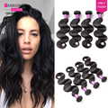 Rosa Hair Products Peruvian Body Wave 4 Bundles Cheap Human Hair Weave Bundles Peruvian Virgin Hair Body Wave 4 Bundle Deals