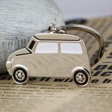 3D автомобильный брелок креативный классический автомобиль внедорожник Модель брелок кольцо ключ брелок для ключей