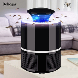 Behogar Photocatalyst Electric USB Mosquito Killer lamp Bug Insect Lights Anti Moustique Killing Trap Repellent Fly Repeller