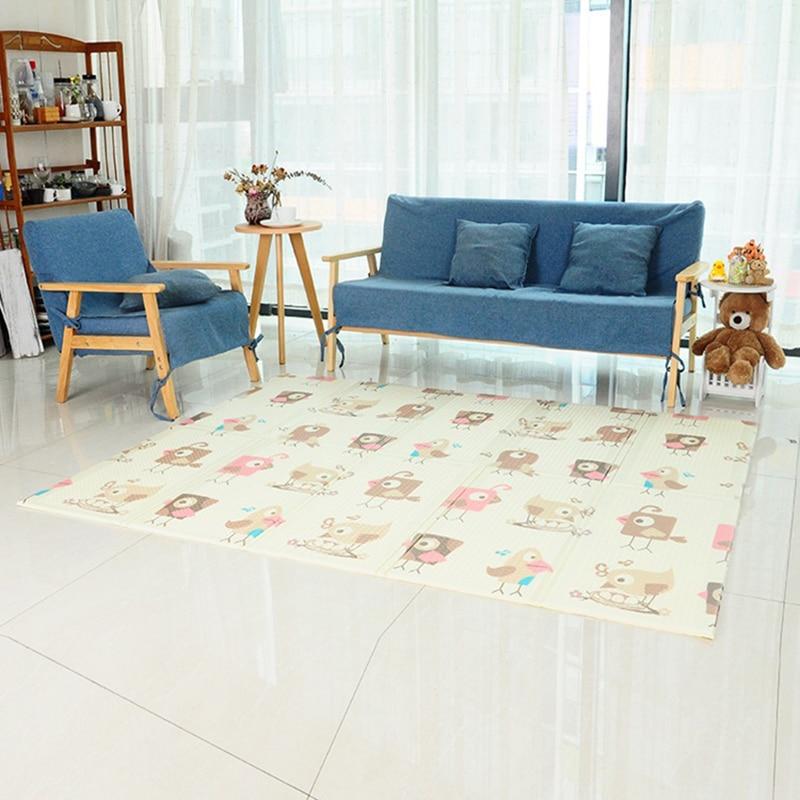 Tapis de jeu pour enfants XPE bébé ramper tapis pliant bébé jouet maison mousse tapis 1.5x2 m Aalfombra Infantil Puzzle tapis Tapete Infantil
