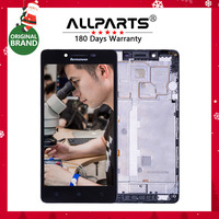 For LENOVO A6000 Display Tested Original 1280x720 Display For LENOVO A6000 LCD Touch Screen With Frame