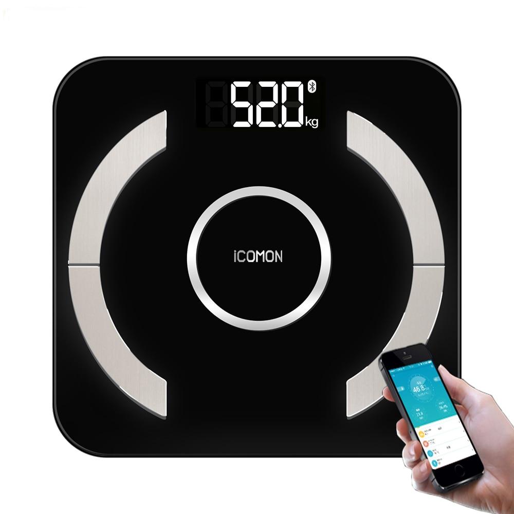 Premium Digital Bathroom Weight Scale Smart Body Fat Mi Scales Household Weighting Floor Bluetooth 46 datas