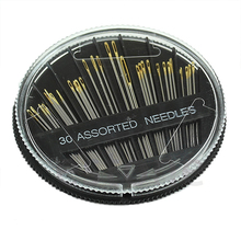 HOT 30Pcs Assorted Hand Sewing Needles Quilt Embroidery Mending Craft Sew Case 91SW
