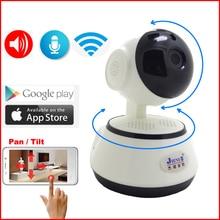 JIENUO IP камера 720 P Wifi двухстороннее аудио Беспроводная Cctv Безопасность Крытый мини инфракрасная камера IPcam домашний монитор видеонаблюдения камера Cam